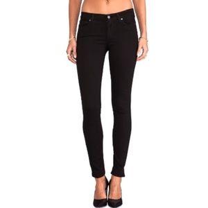 NWT Paige Verdugo Ultra Skinny Black Stretch Jeans